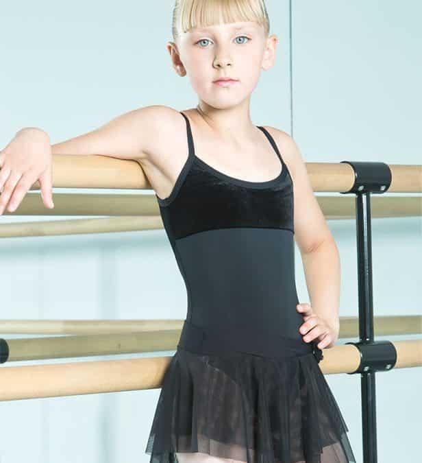Детско трико за балет – таблица за определяне на размера