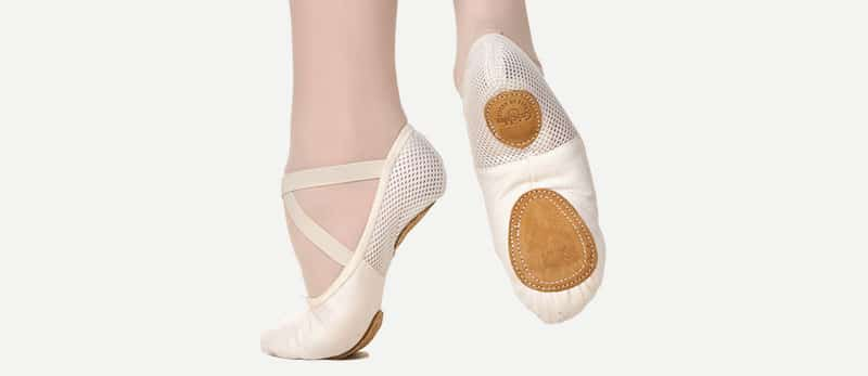 Туфли – Mеки балетни обувки – таблица за определяне на размера